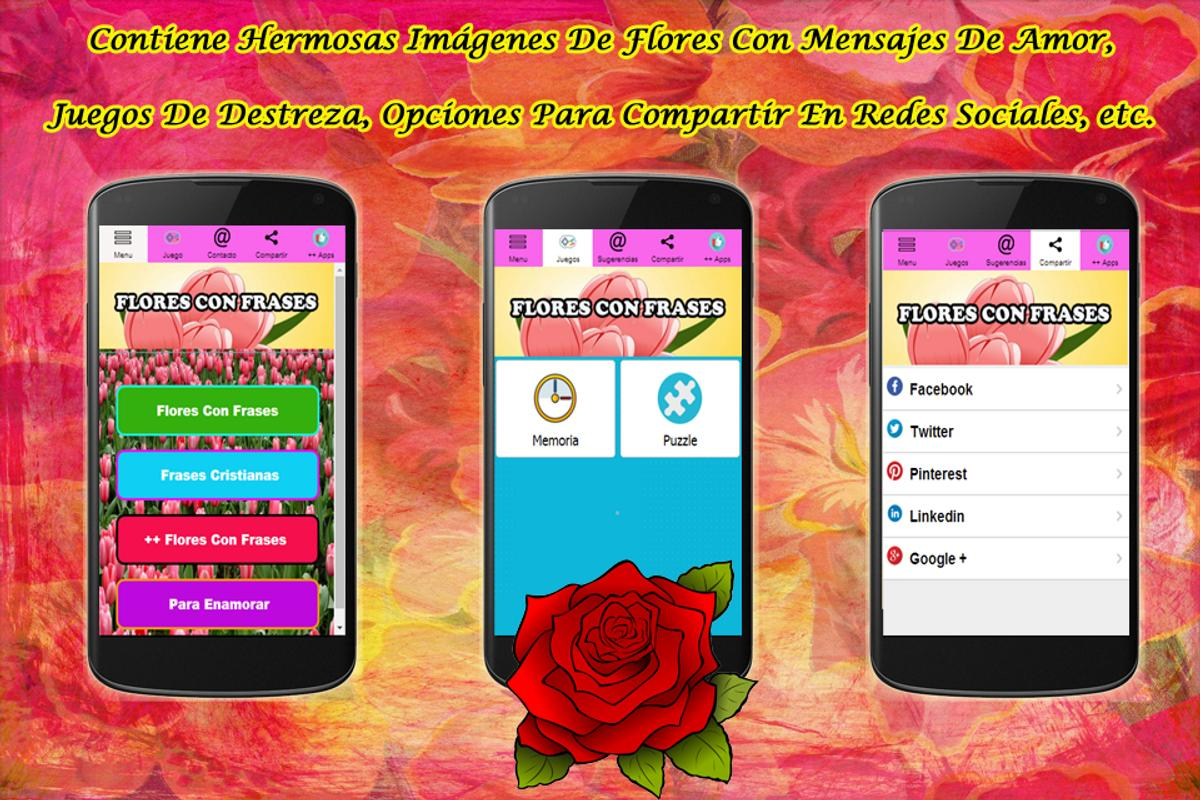 Flores Con Frases For Android Apk Download