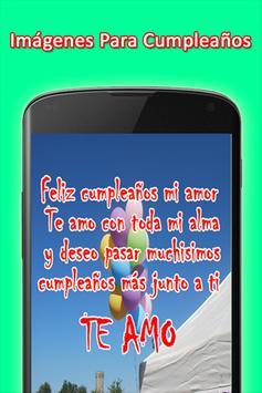 Mensajes de Felicitacion de Cumpleaños screenshot 3