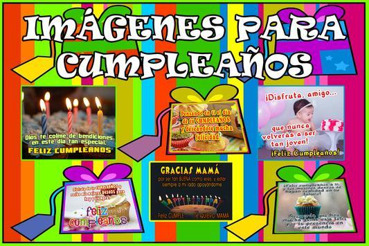 Mensajes de Felicitacion de Cumpleaños screenshot 2