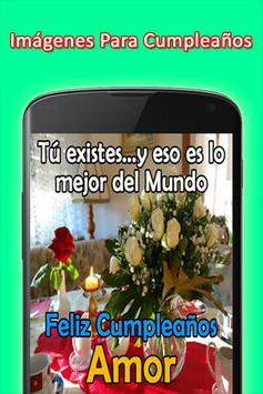 Mensajes de Felicitacion de Cumpleaños screenshot 4