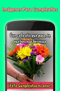 Mensajes de Felicitacion de Cumpleaños screenshot 5