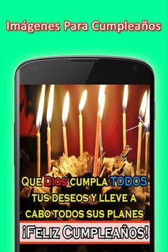 Mensajes de Felicitacion de Cumpleaños screenshot 6
