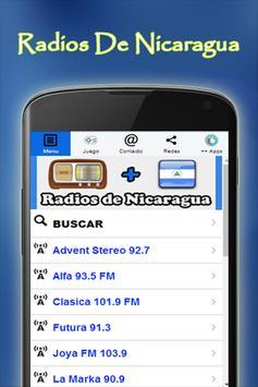 Radios De Nicaragua Gratis poster