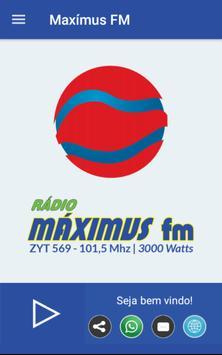 Radio Máximus FM poster