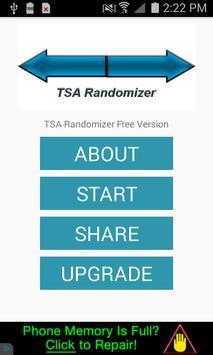 TSA Randomizer Free poster