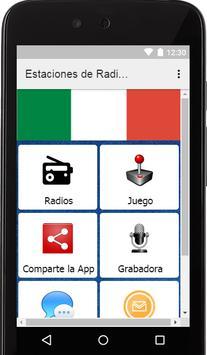 Estaciones de Radios de Italia poster