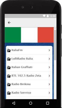 Estaciones de Radios de Italia screenshot 1