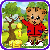 Jungle Run Game Of Daniel Tiger icon