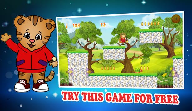 Jungle Run Game Of Daniel Tiger screenshot 16