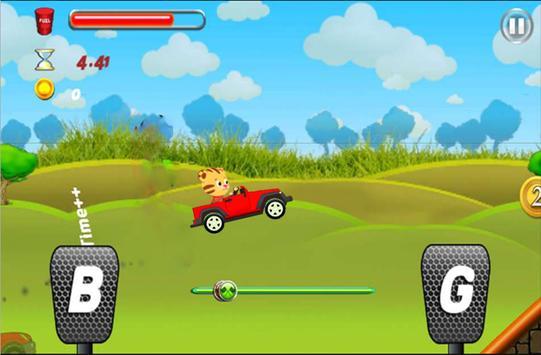 Daniel The Tiger Racing apk screenshot