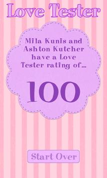 Love Tester Rating Calculator poster