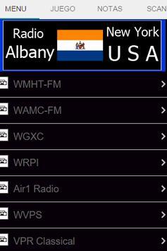 Radio Albany New York USA poster
