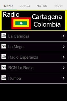 Radio Cartagena Colombia poster