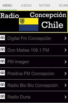 Radio Concepción Chile poster