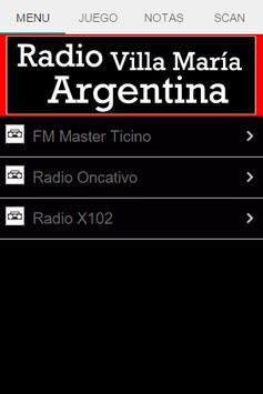 Radio Villa María Argentina poster