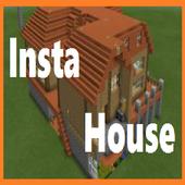 Insta House Mod For MCPE icon