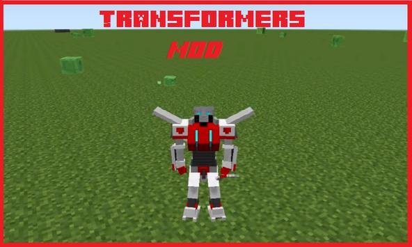 Transformers Addon for MСPE poster