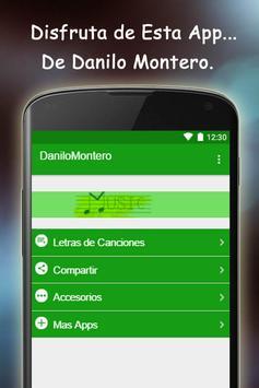 Danilo Montero Letras de Canci poster