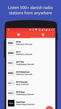 Danish Radio screenshot 1