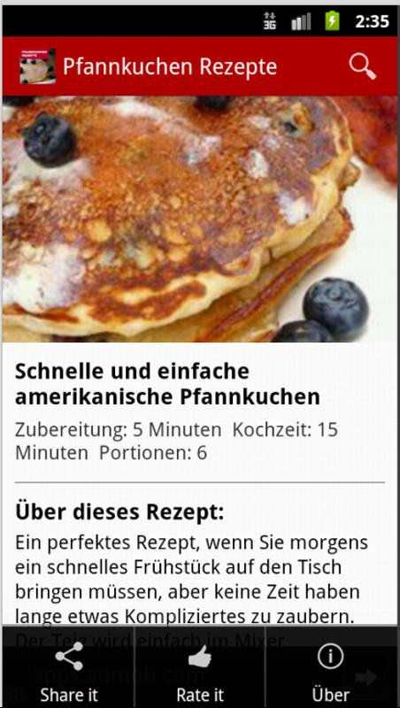 Pancakes Rezepte Deutschland For Android Apk Download