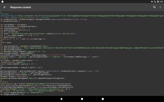 Debug Proxy screenshot 6