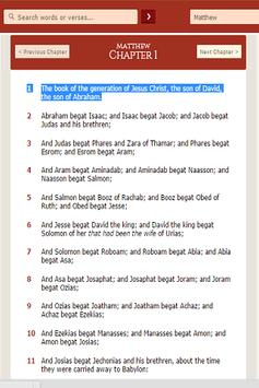 The KJV Bible Free screenshot 3