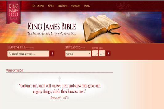 The KJV Bible Free screenshot 1