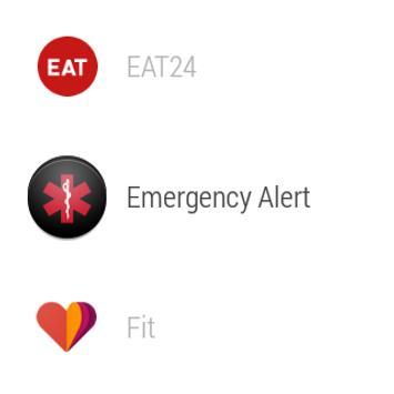 Emergency Alert for Wear screenshot 1
