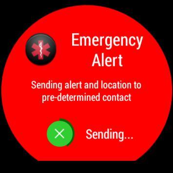Emergency Alert for Wear screenshot 3