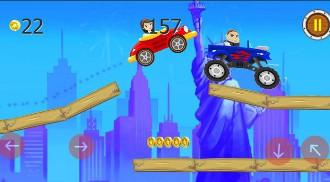 لعبة سباق عزوز و دانية screenshot 3