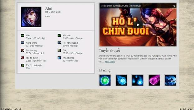 Hồ Li Chín Đuôi Ahri apk screenshot