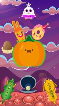 Adventure super pumpkin and candy poster