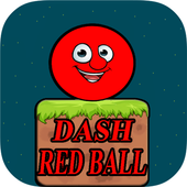 red ball dash icon