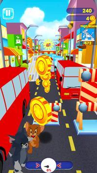 Subway Super Rush : Jerry Escape screenshot 1