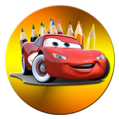 Happy Cars Coloring For Kids icon