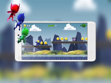Run Pj Adventures Masks World apk screenshot
