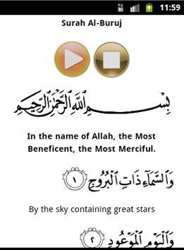 Quran Mp3 - Sa'ad Al-Ghomidi apk screenshot
