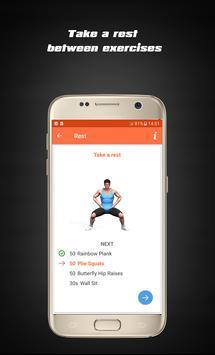 Home Hard workouts - Fitness screenshot 3