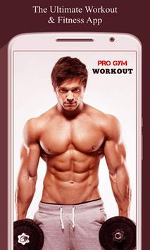 Home Hard workouts - Fitness poster