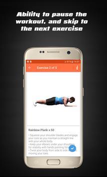 Home Hard workouts - Fitness screenshot 13