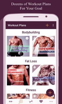Home Hard workouts - Fitness screenshot 2