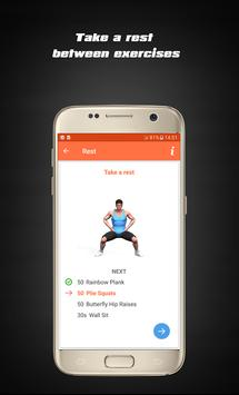 Home Hard workouts - Fitness screenshot 9