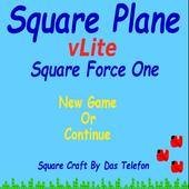 Square Plane vLite -Air Flight icon