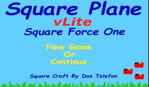 Square Plane vLite -Air Flight poster
