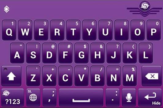SlideIT Slovenian QWERTY Pack screenshot 3