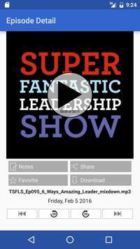 Super Fantastic Leadership poster