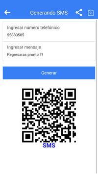 Mobile QR Generator screenshot 1
