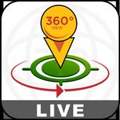 Straat Uitzicht Live - satelliet Wereldkaarten-icoon