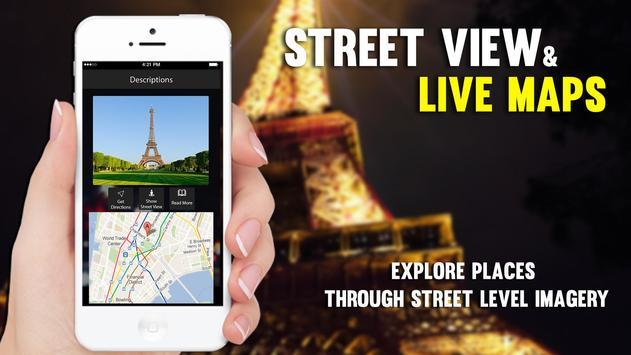 Straat Uitzicht Live - satelliet Wereldkaarten screenshot 11