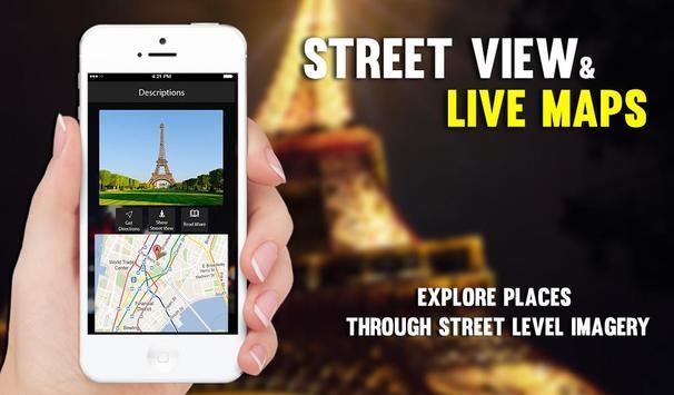 Straat Uitzicht Live - satelliet Wereldkaarten screenshot 27